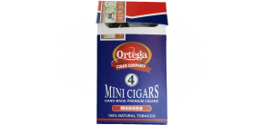 Ortega Mini Cigar Box - Maduro